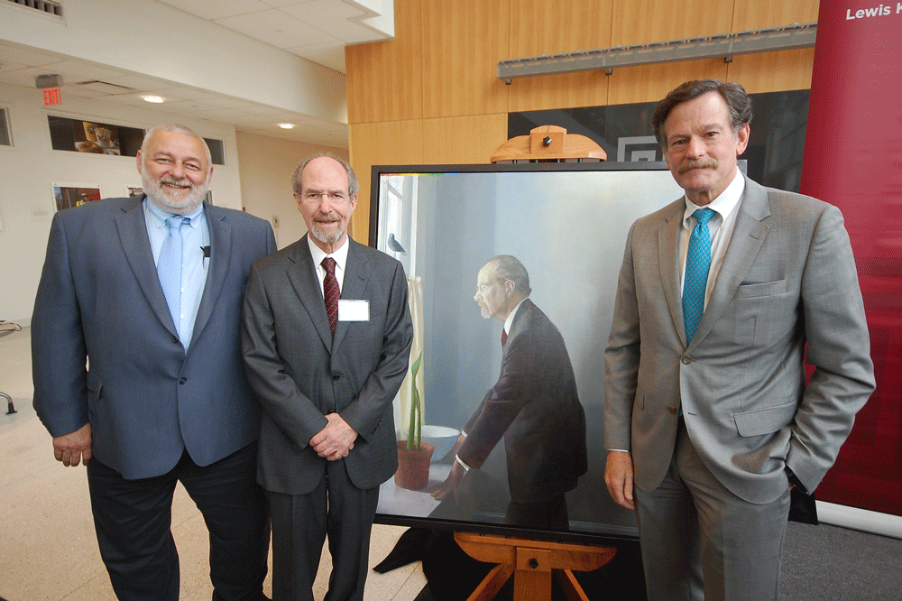 Dr  Bennett Lorber Honored with Portrait | Lewis Katz School