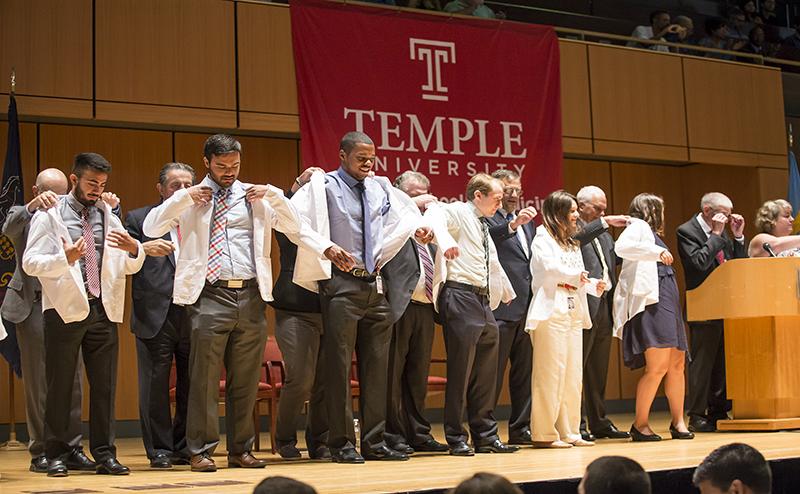 White Coat Ceremony Welcomes the Class of 2020 | Lewis Katz
