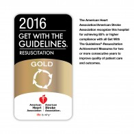 Temple University Hospital Earns American Heart Association's Get With The Guidelines® – Resuscitation Gold Quality Achievement Award