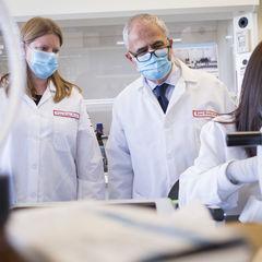 Drs. Khalili and Burdo - HIV Research
