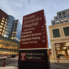 Temple Hospital and Medical School