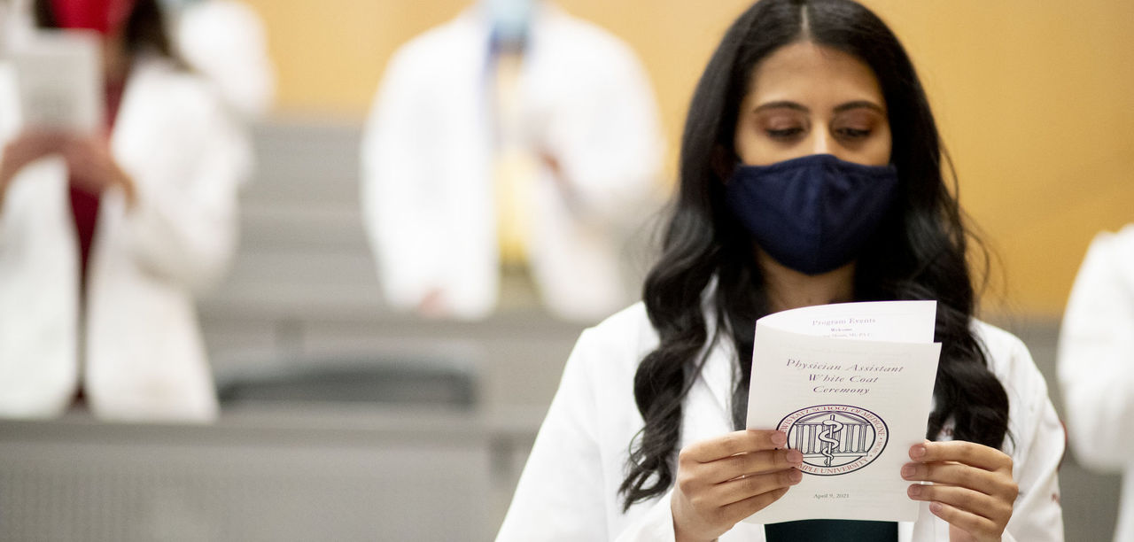 A White Coat and Many Shades of Meaning for the Physician Assistant Class of 2022
