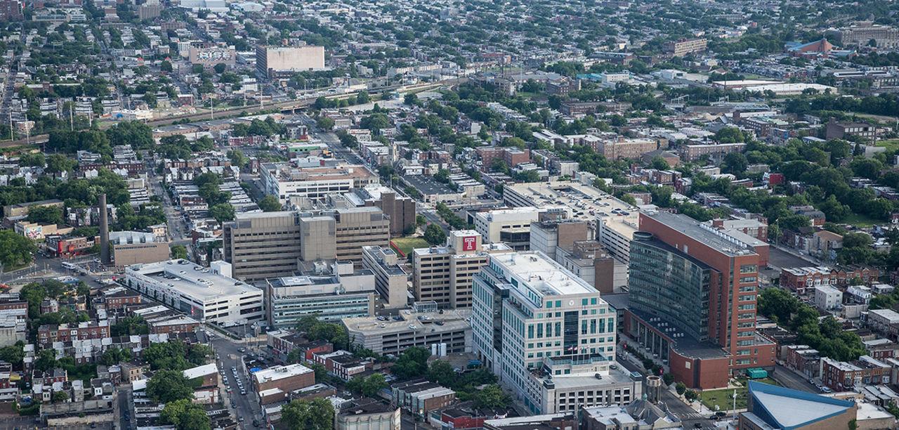 Urban Health Landing Page