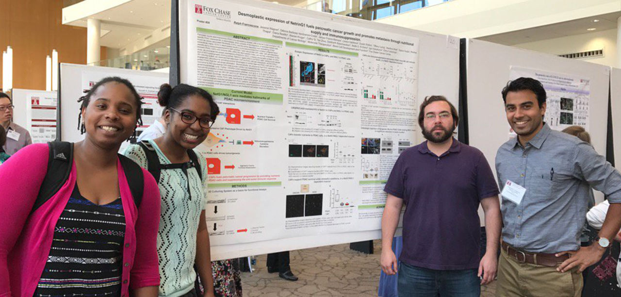 Department of Cancer and Cellular Biology Students Presenting