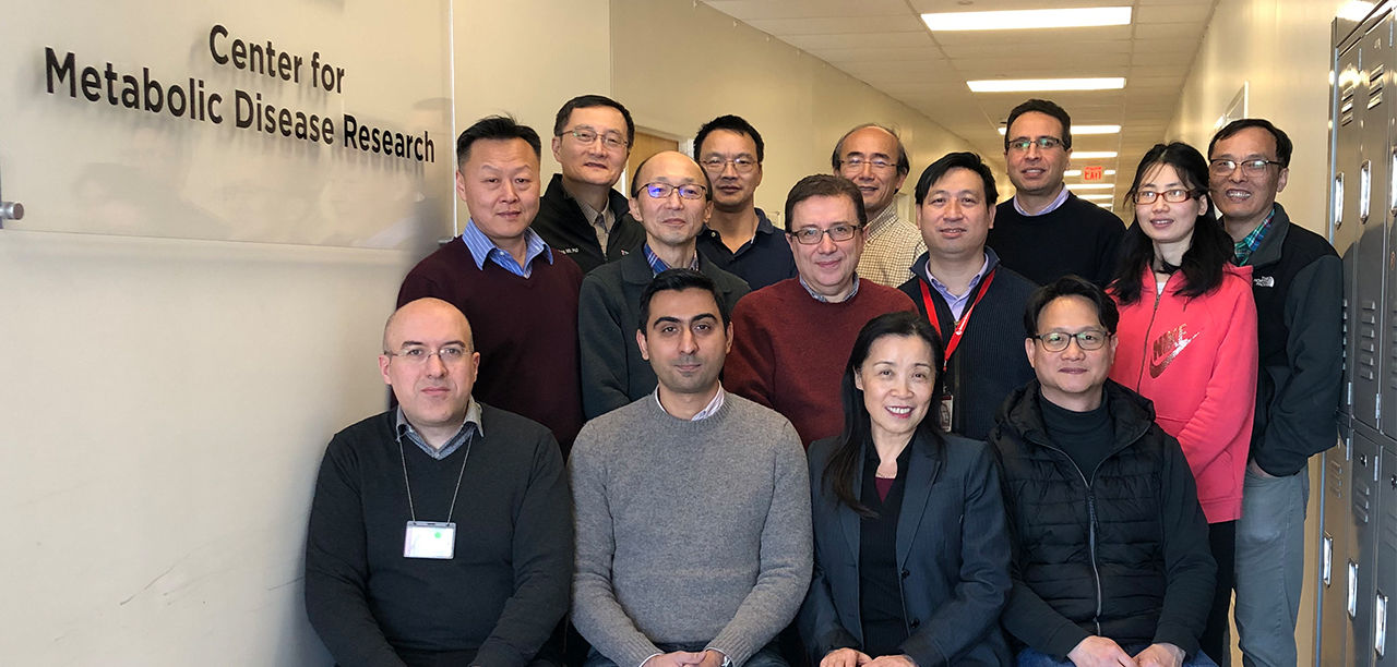 Center for Metabolic Disease Research Team