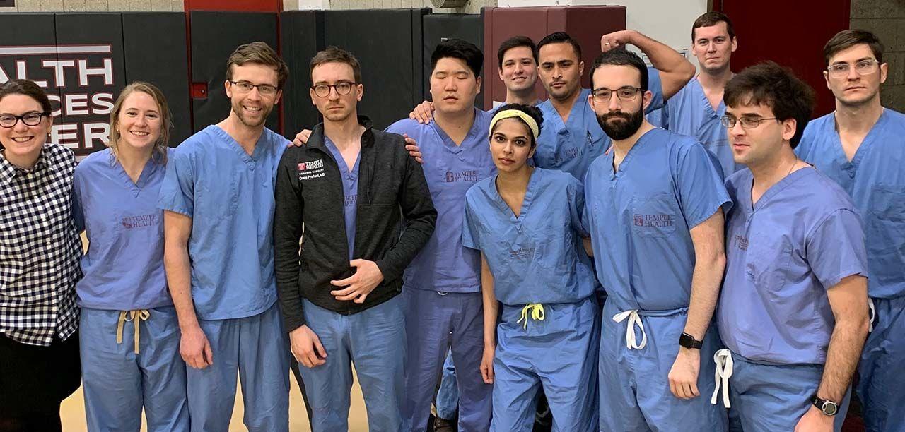 Surgery Residency Scrubs